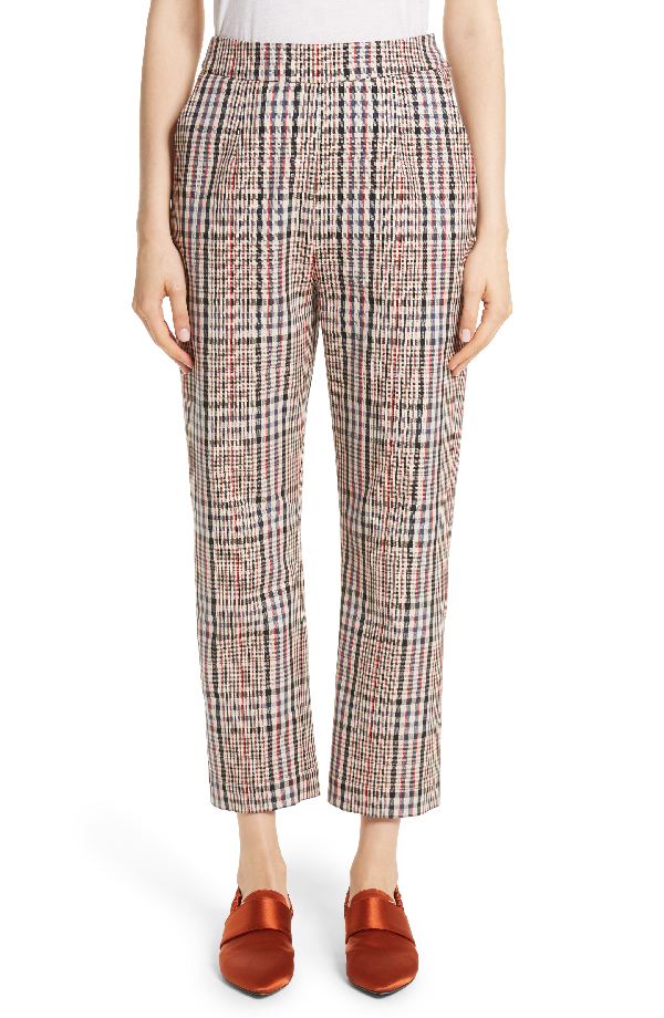 Isa Arfen Classic Pantalone Crop Pants In Brighton