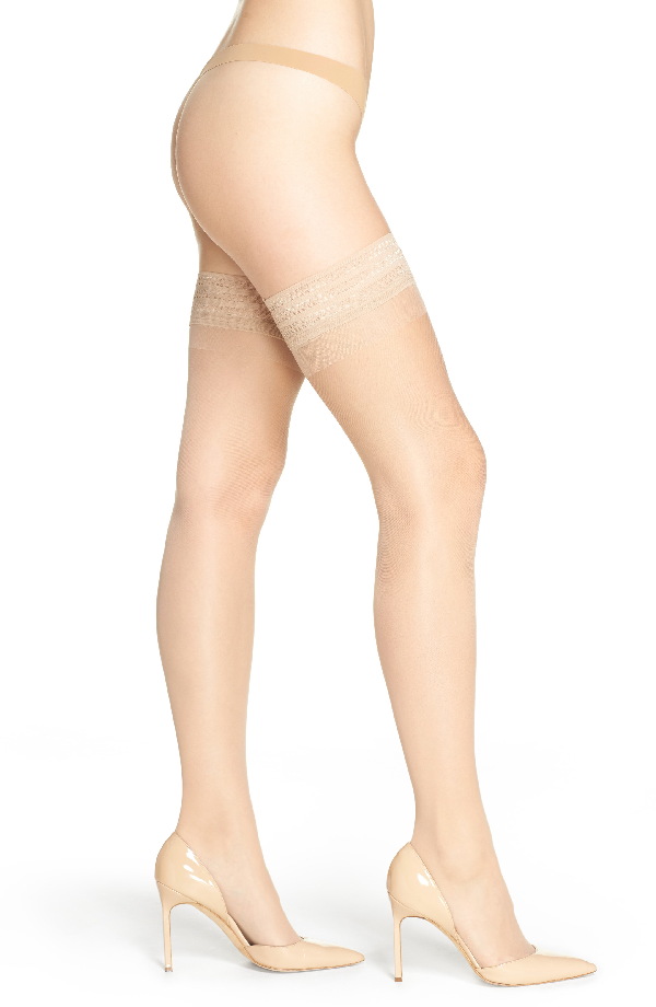 Item M6 Stay-up Stockings In Powder