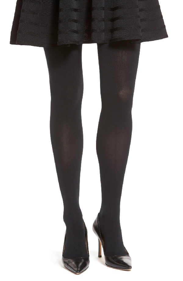 Item M6 Opaque Tights In Black
