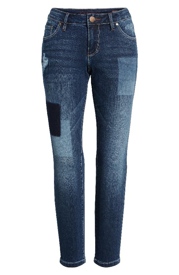 Jag Jeans Mera Skinny Ankle Jeans In Bucket Blue