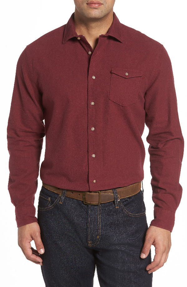 Johnnie-o Patch Classic Fit Sport Shirt In Phoenix