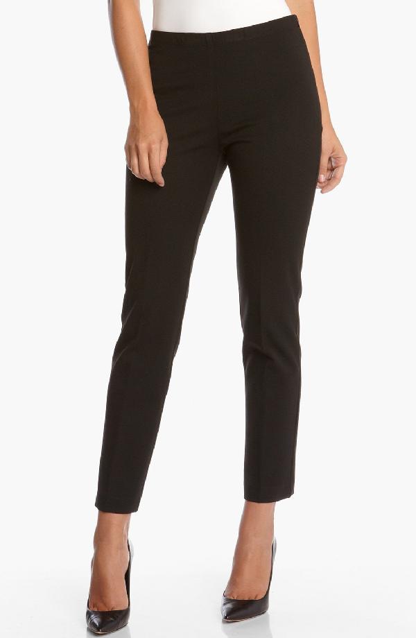 Karen Kane 'jackie' Ankle Pants In Black