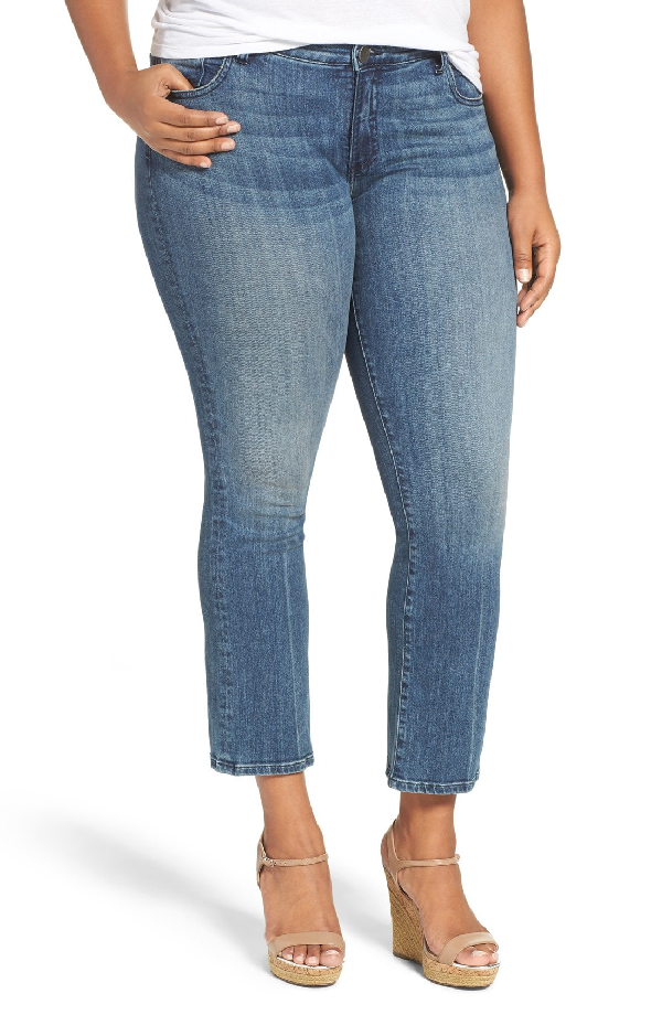 Kut From The Kloth 'reese' Crop Flare Leg Jeans In Perfection