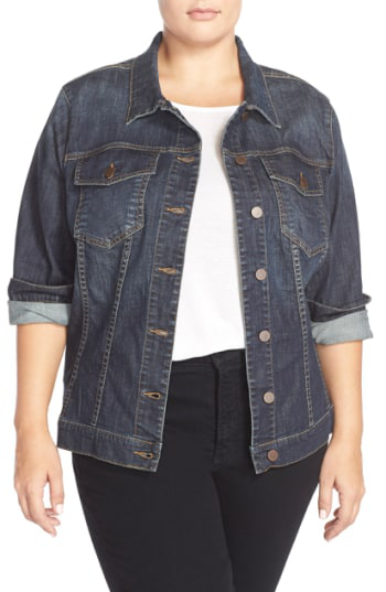 Kut From The Kloth Denim Jacket In Gratitude