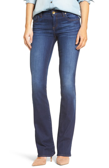 Kut From The Kloth Natalie Stretch Bootleg Jeans In Invigorated