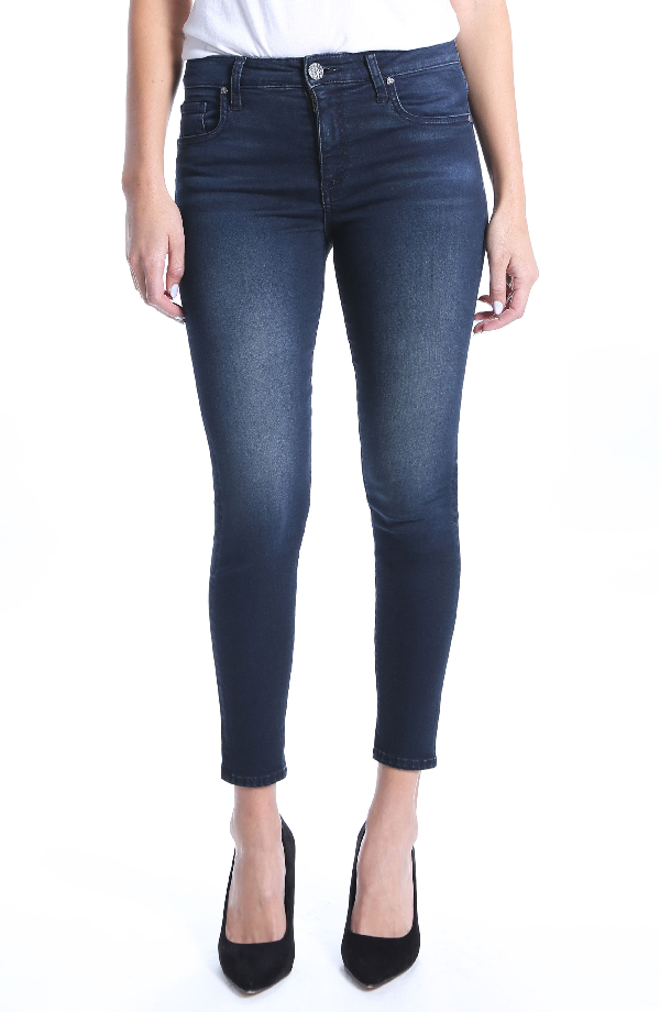 Kut From The Kloth Donna High Rise Ankle Skinny Jeans In Recognizable