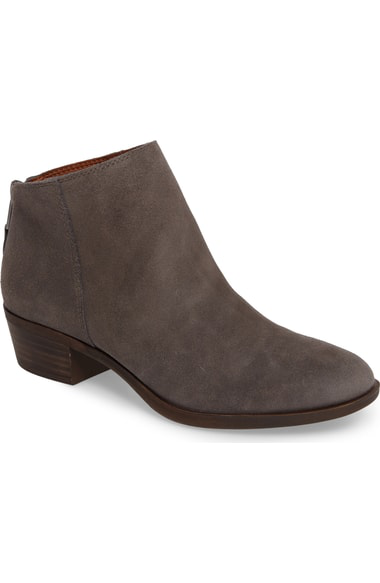 Lucky Brand Bremma Bootie In Storm Leather