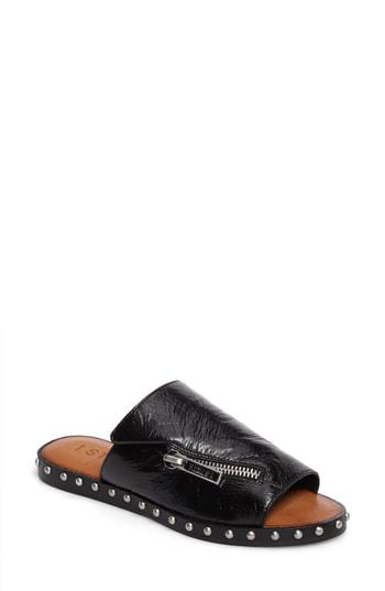 1.state Cadwyn Slide Sandal In Black Leather