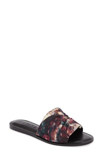 1.state Chevonn Slide Sandal In Floral Print