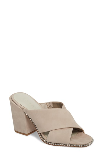 1.state Ricard Sandal In Taupe Suede
