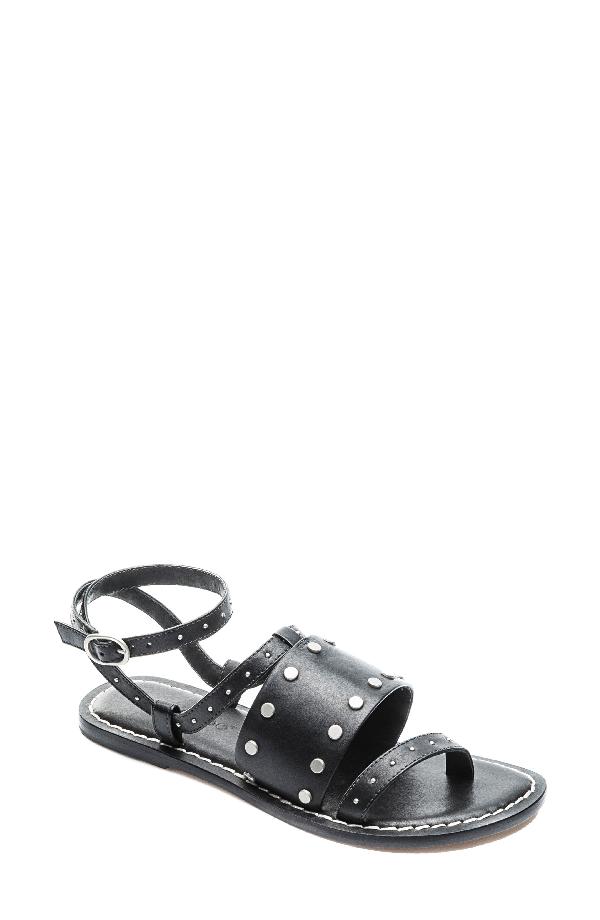 Bernardo Maisa Sandal In Black Leather