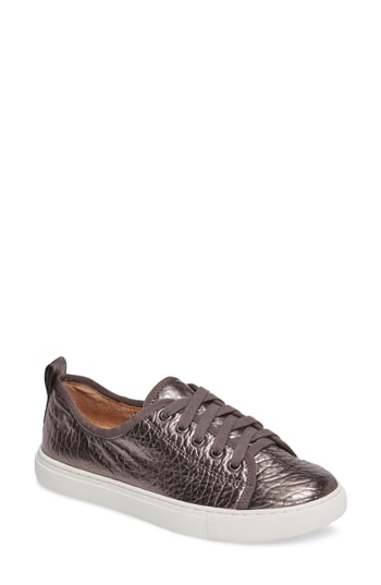 Corso Como Simona Sneaker In Pewter Leather
