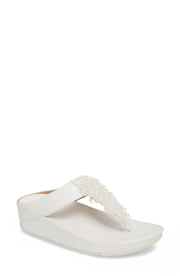 Fitflop Rumba Sandal In Urban White Leather