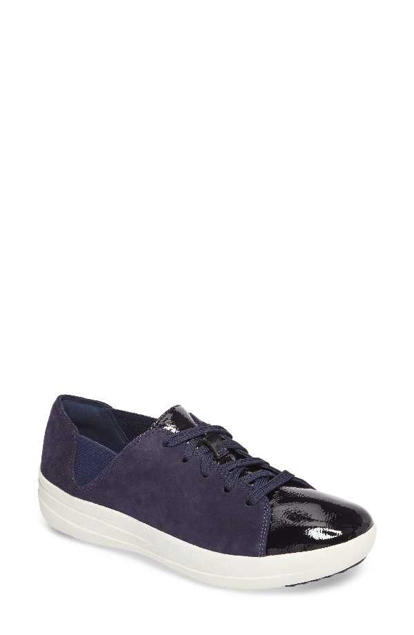 Fitflop F-sporty Sneaker In Midnight Navy Mix
