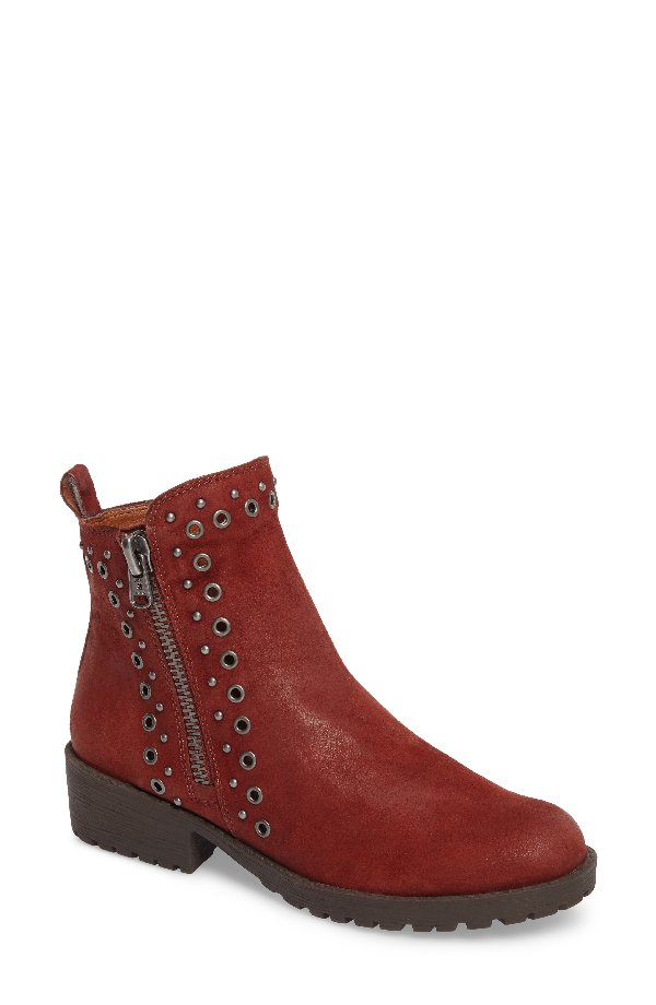 Lucky Brand Hannie Embellished Bootie In Sable Leather
