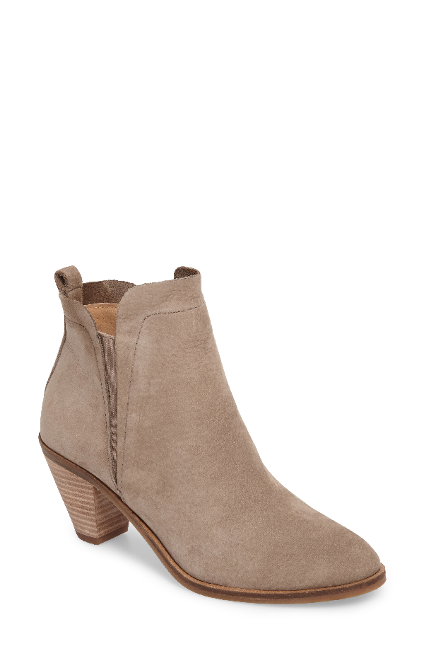 Lucky Brand Jana Bootie In Brindle Leather