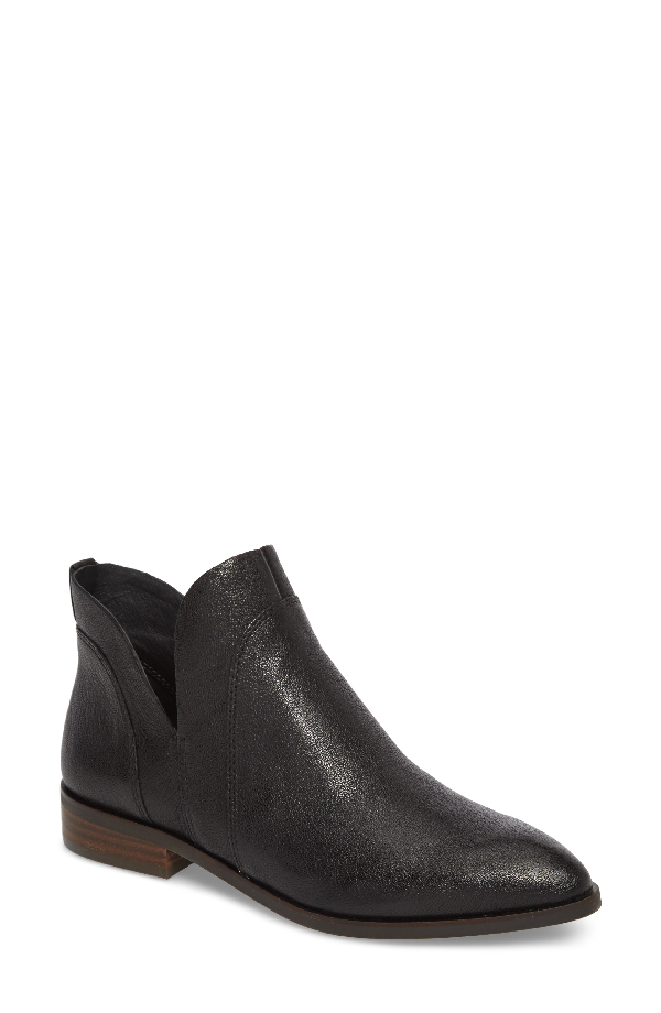Lucky Brand Jamizia Bootie In Black Leather
