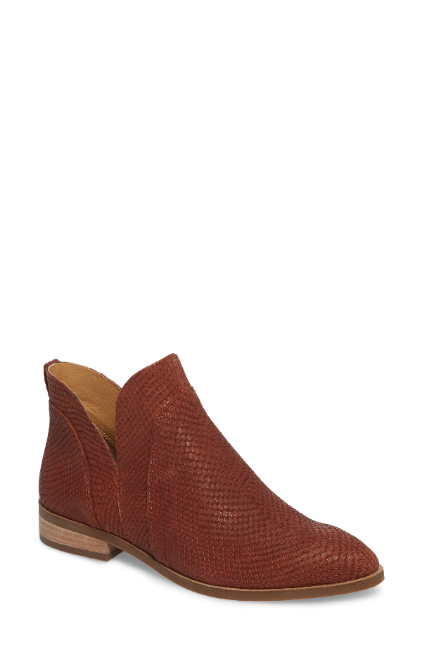 Lucky Brand Jamizia Bootie In Rye Leather
