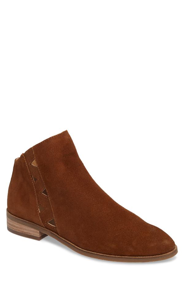 Lucky Brand Jakeela Bootie In Cedar Leather