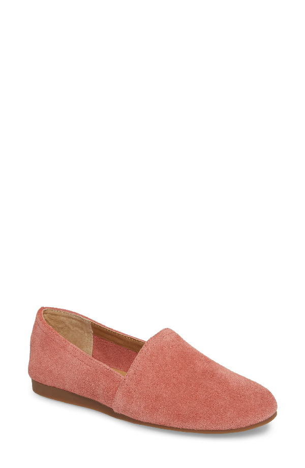 Lucky Brand Brettany Loafer In Canyon Rose Suede