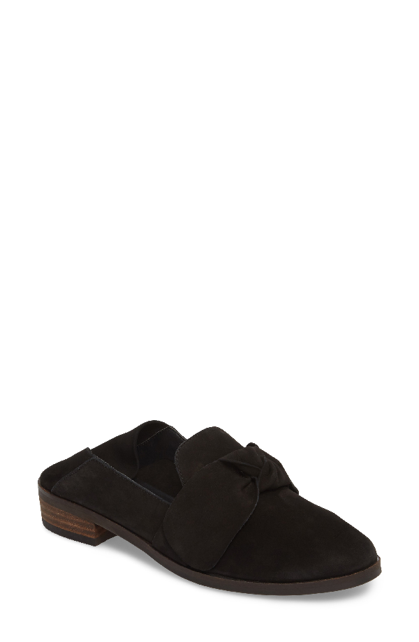 Lucky Brand Cozzmo Convertible Loafer In Black Nubuck
