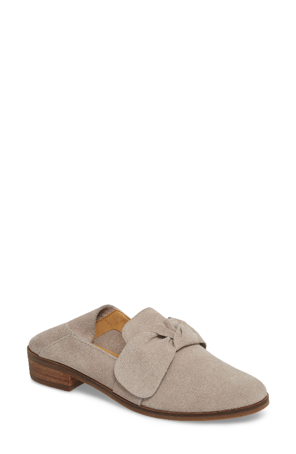 Lucky Brand Cozzmo Convertible Loafer In Chinchilla Suede