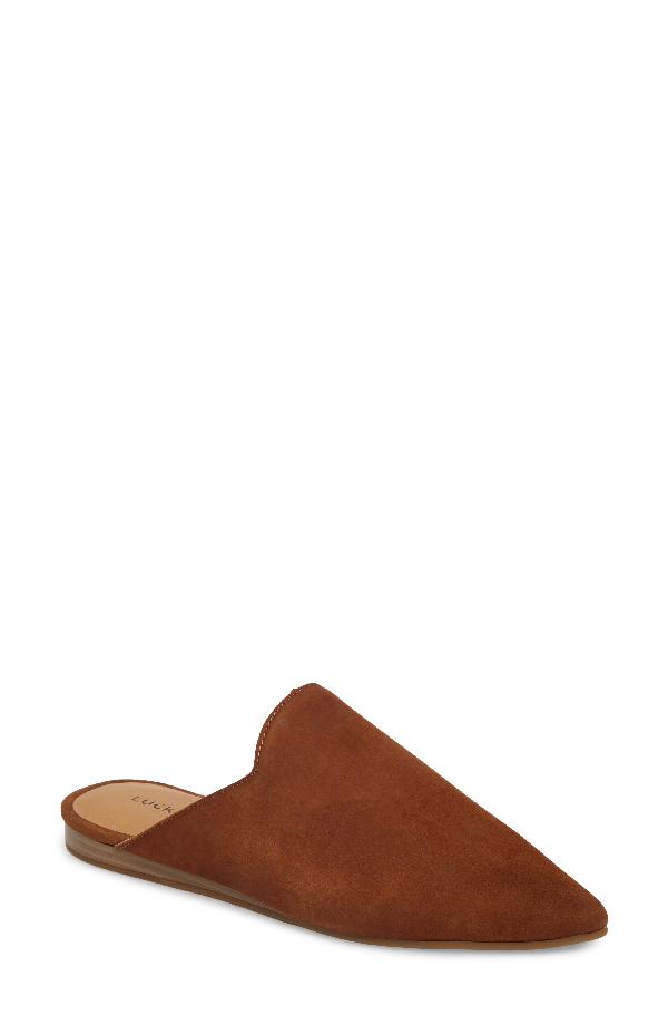 Lucky Brand Blythh Mule In Cedar Leather