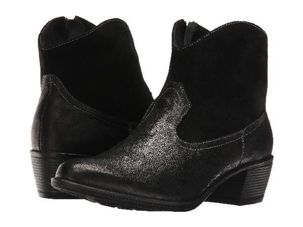 Munro , Black Leather/suede