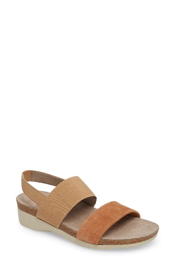 7ebdd5896 Munro 'Pisces' Sandal In Beige Suede | ModeSens