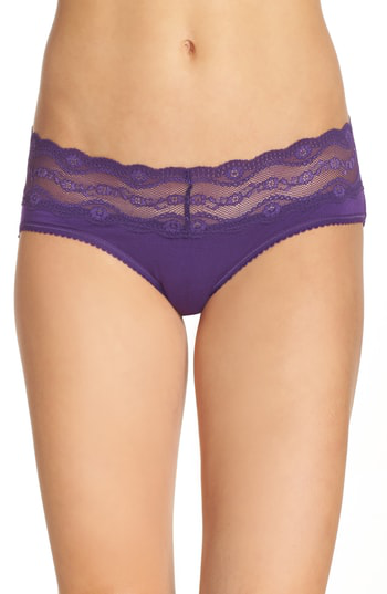 B.tempt'd By Wacoal B. Adorable Hipster Panties In Acai