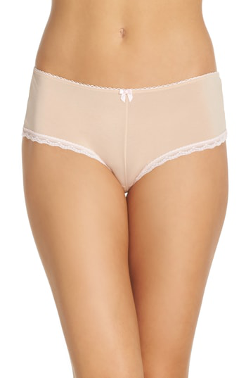Betsey Johnson Perfectly Sexy Hipster Briefs In Sand