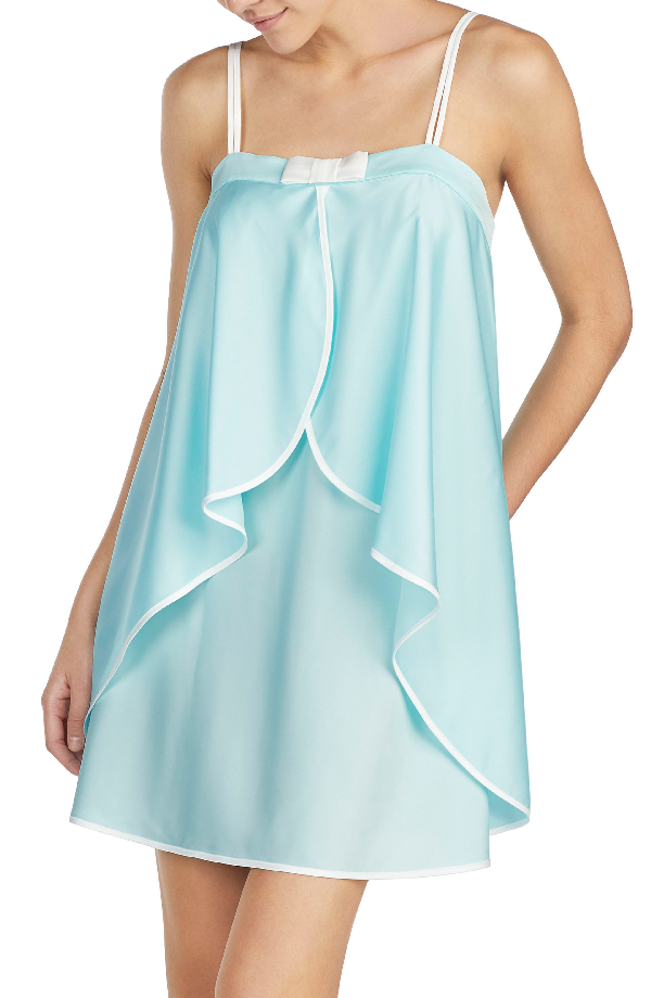 Kate Spade Charmeuse Chemise In Air