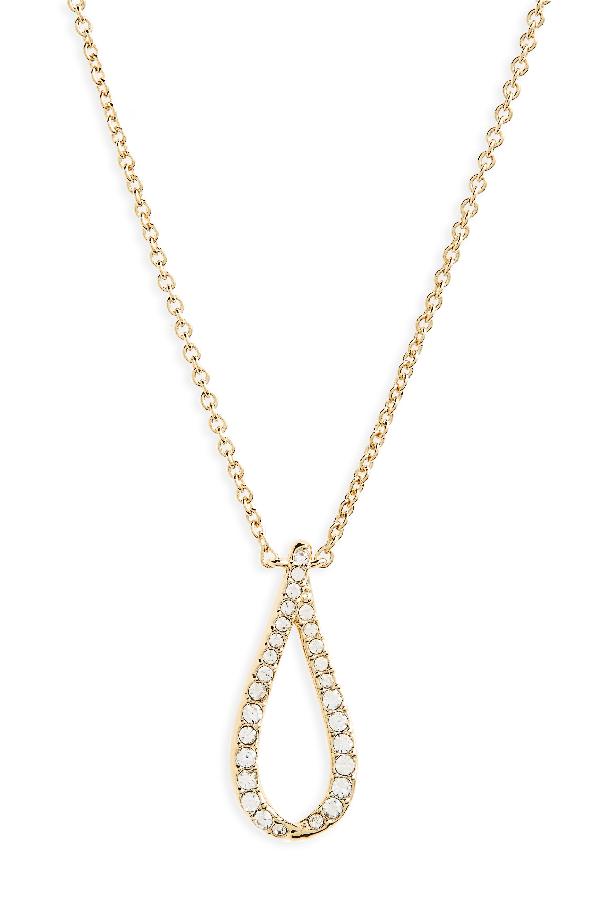 Nadri Citron Pendant Necklace In Gold