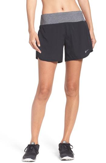 Nike Flex Running Shorts In Black