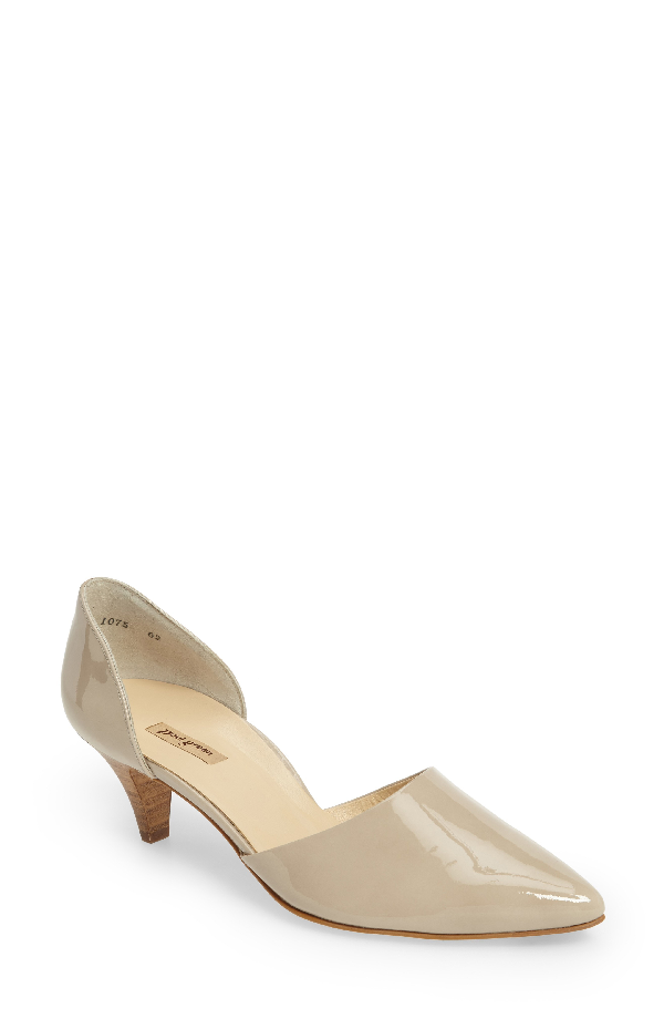 Paul Green 'julia' D'orsay Pump In Taupe Patent