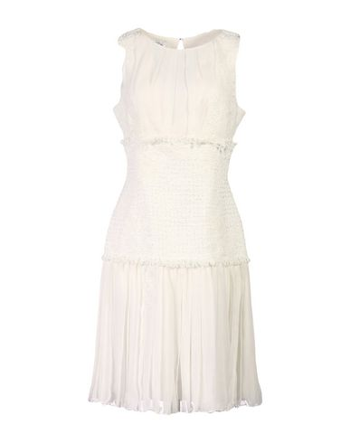 Oscar De La Renta Knee-length Dresses In White