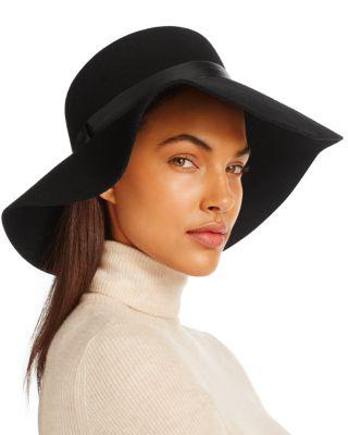 August Hat Company Wide Brim Felt Hat - 100% Exclusive In Black