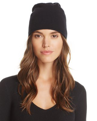 C By Bloomingdale's Angelina Cashmere Slouch Hat - 100% Exclusive In Black