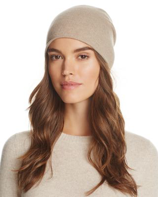 C By Bloomingdale's Angelina Cashmere Slouch Hat - 100% Exclusive In Oatmeal