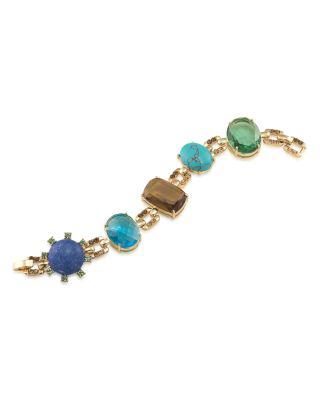 Carolee Stone Bracelet - 100% Exclusive In Gold/multi