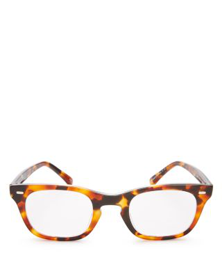 Corinne Mccormack Toni Readers, 47mm In Honey Tortoise