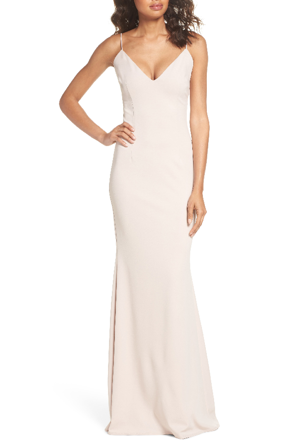 Katie May Bambi Cutout Mermaid Gown In Ballet