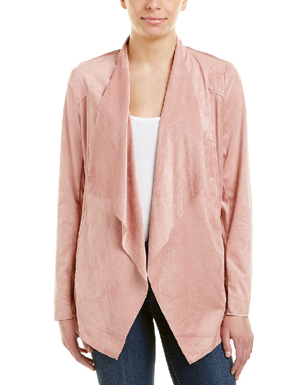Kut From The Kloth Mariana Draped Jacket In Pink