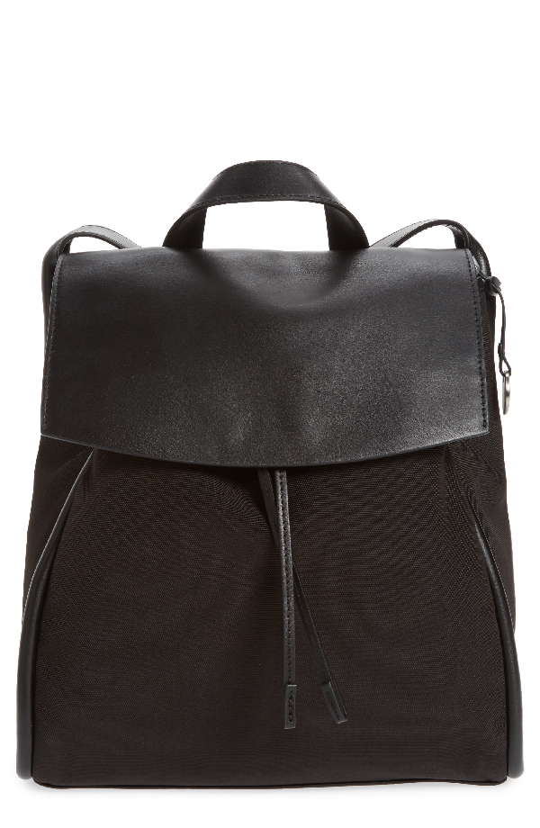 Skagen Ebba Leather Backpack - Black