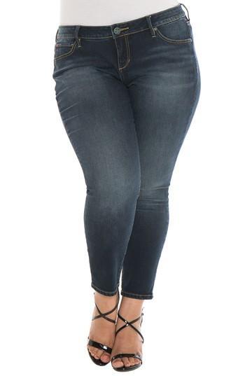 Slink Jeans Skinny Ankle Jeans In Sal