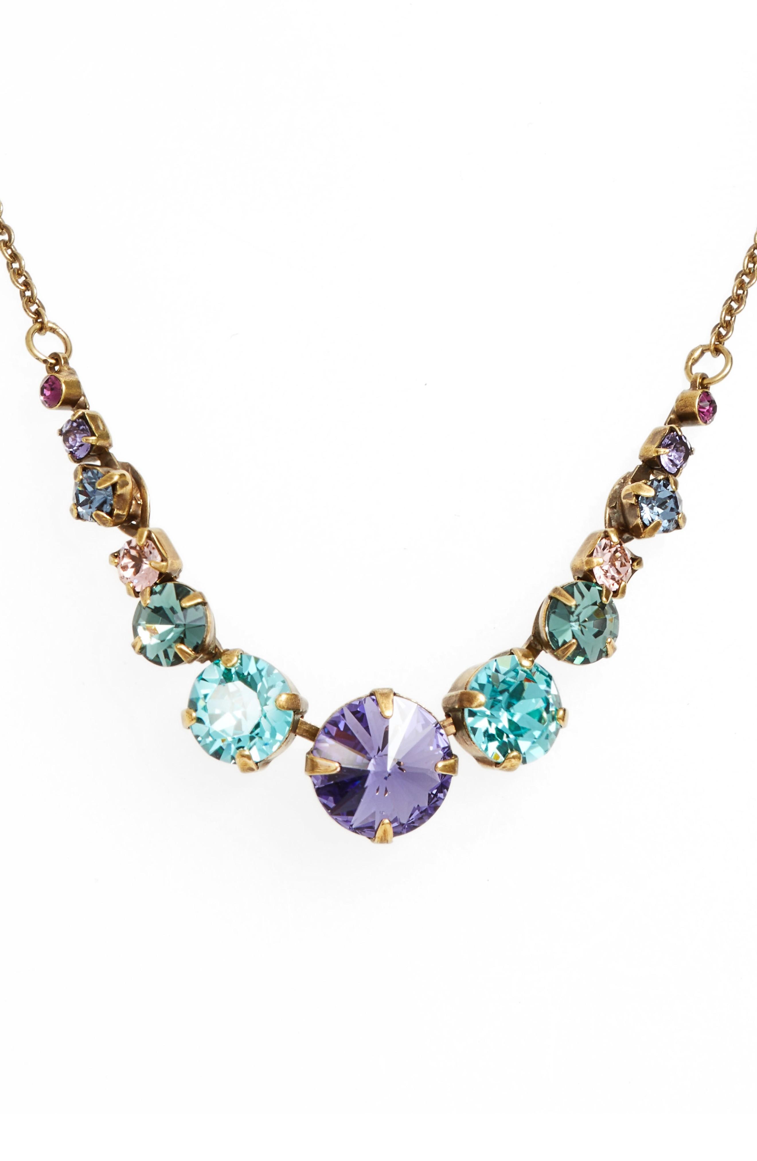 Sorrelli Crystal Collar Necklace In Multi