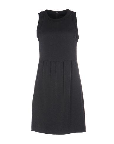 Emporio Armani Short Dresses In Lead