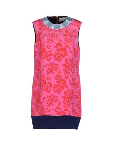 Mary Katrantzou Short Dresses In Fuchsia