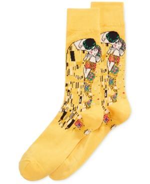 Hot Sox Men's Socks, David In Sunflower