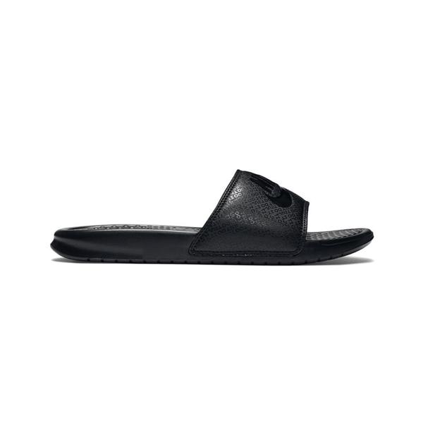 Men's Kawa Adjustable Slide Sandals From Finish Line In Black